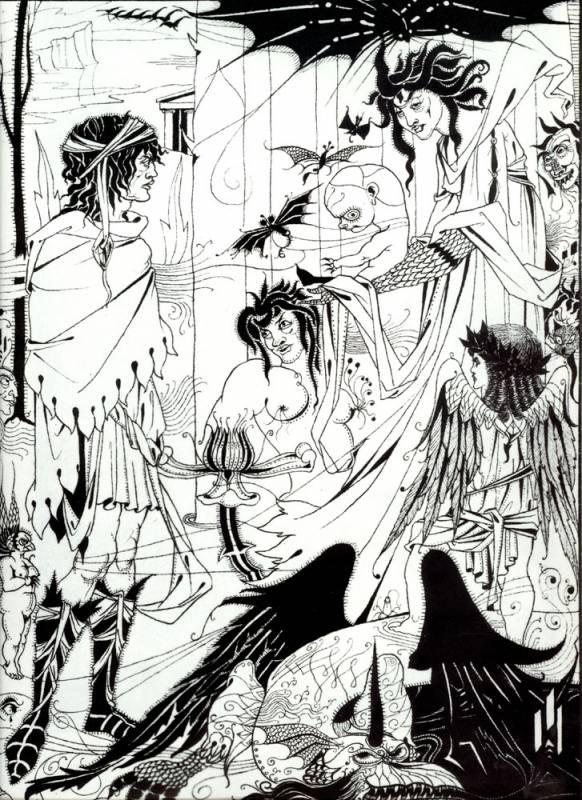 Купить репродукцию категории Художник, Beardsley, Aubrey (1872-1898).