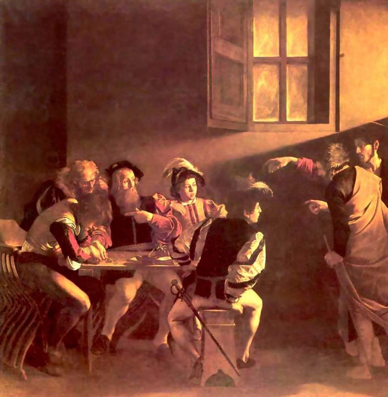 the calling of st matthew caravaggio essay