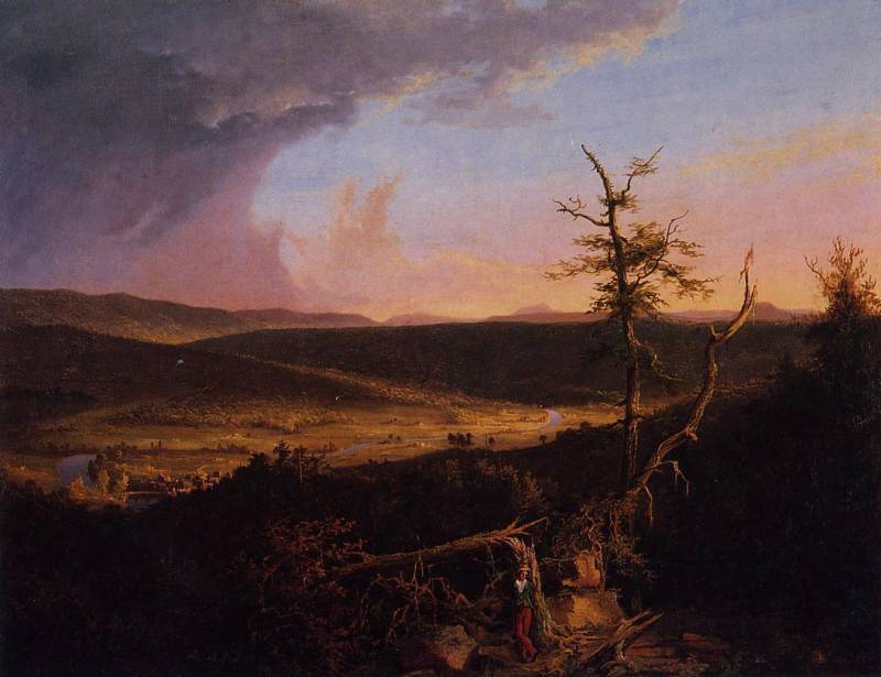 the artist portrays himself to the viewer in coles view from mount holyoke massachusetts and whitman Full text of massachusetts industry: progress through enterprise see other formats.