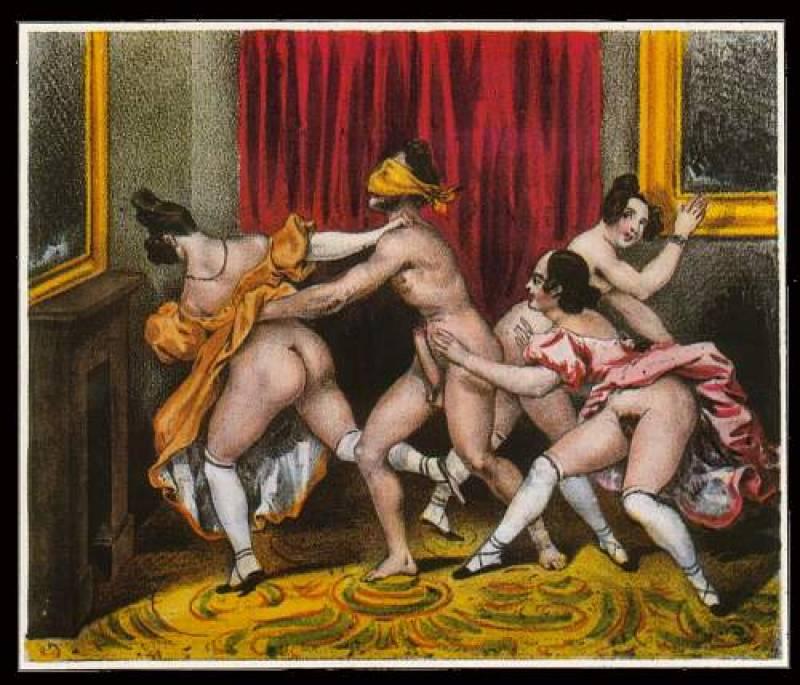 старинные эротические картины.