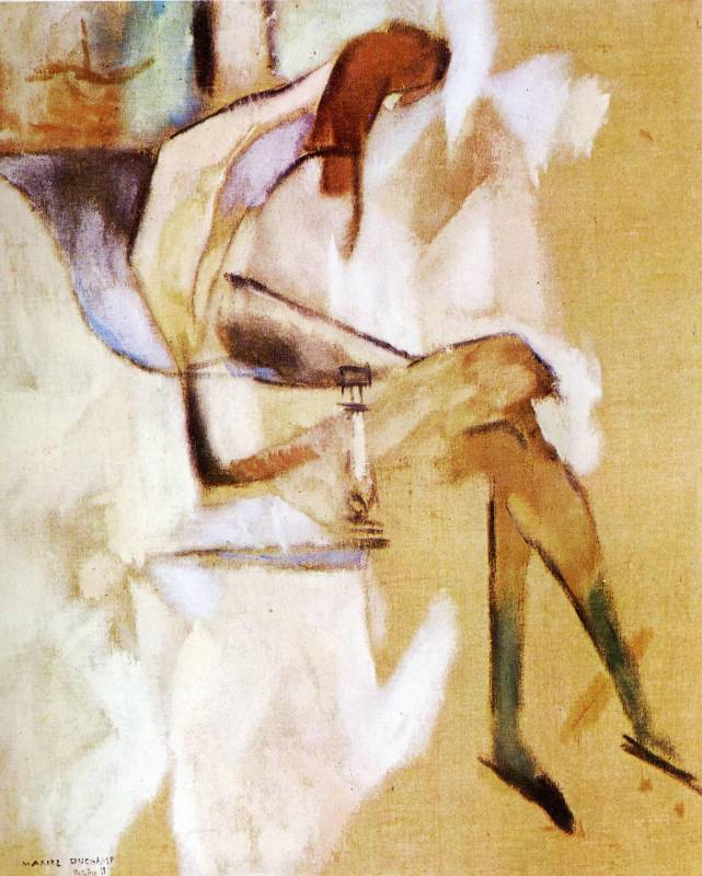 a biography of marcel duchamp a french dada artist