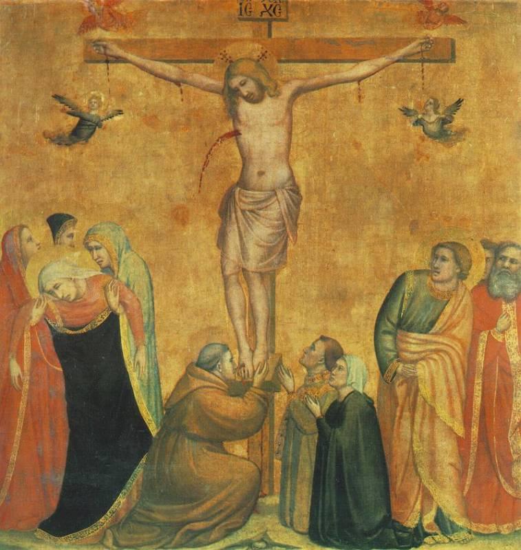 распятие христа джотто картинки супругами детьми