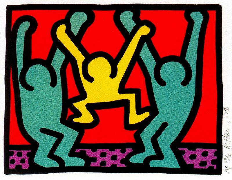 keith haring Keith haring was an artist and social activist whose work responded to the new york city street culture of the 1980s.