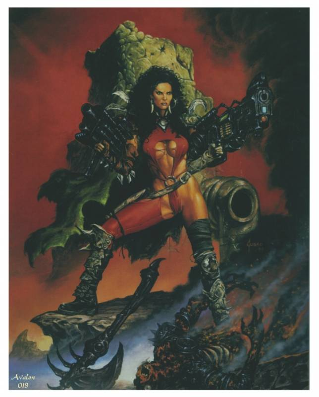 Fantasy Art of Joe Jusko.