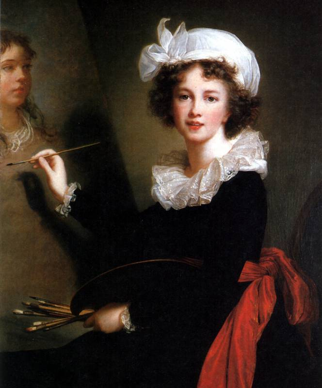 elizabeth louise vigée le brun Maligned by feminists and macho critics, elisabeth louise vigée le brun was a maverick now her work is on display at the national gallery.