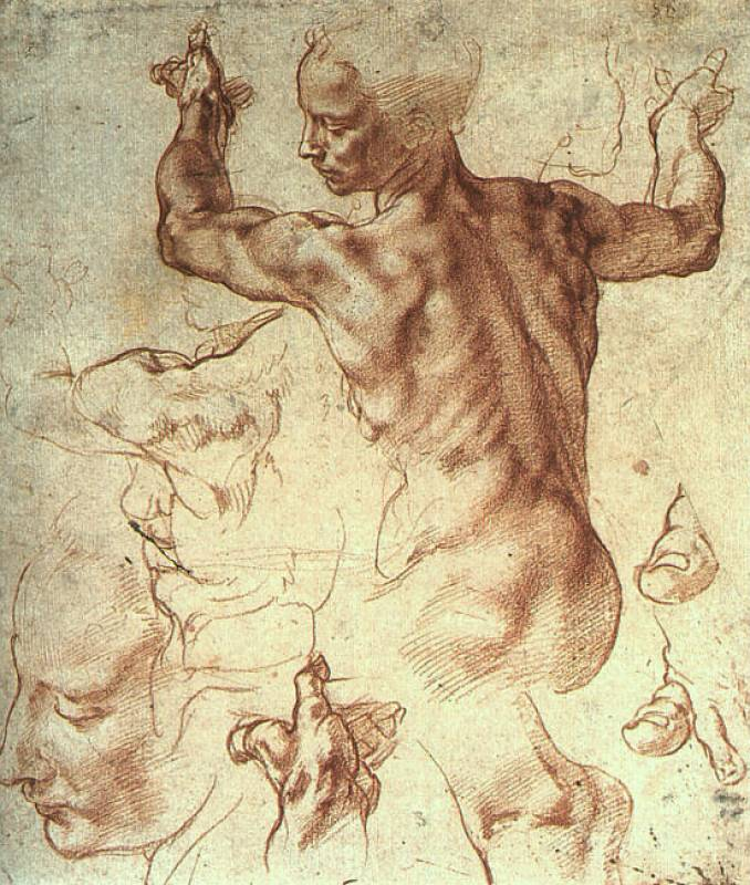 account of the life and works of michelangelo buonarroti Michelangelo buonarroti in 1505, pope julius ii commissioned michelangelo to sculpt him a grand tomb with 40 life-size statues, and the artist began work.