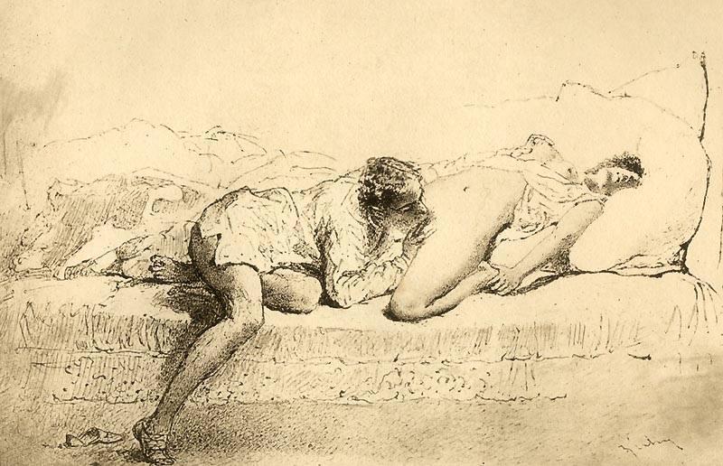 Картины великих художников эротика